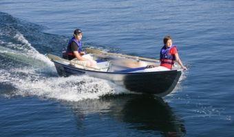 Offene Motorboot und Ruderboot Linder Fishing 440 zu verkaufen