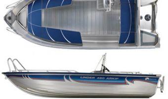 Offene Motorboot und Ruderboot Linder Arkip 460 zu verkaufen