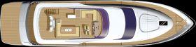 Fairline Squadron 78 Custom Photo 19