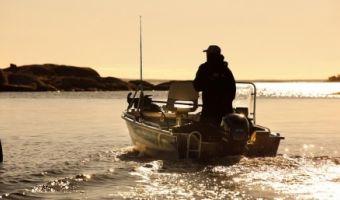 Offene Motorboot und Ruderboot Linder Sportsman Catch zu verkaufen