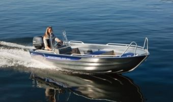 Open motorboot en roeiboot Linder Sportsman 445 Max eladó
