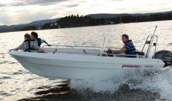 Open motorboot en roeiboot Pioner Viking eladó