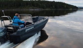 Offene Motorboot und Ruderboot Pioner Multi zu verkaufen