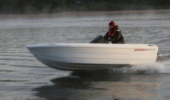 Offene Motorboot und Ruderboot Pioner 14 zu verkaufen