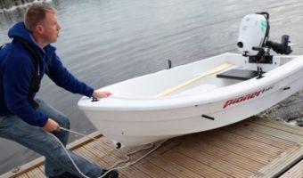 Åben båd og robåd  Pioner 8 Mini til salg
