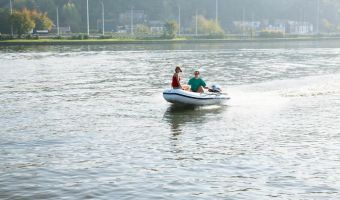 RIB et bateau gonflable Mercury Air Deck Deluxe 320 à vendre