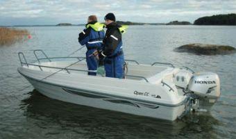Åben båd og robåd  Terhi 475 Open Fc til salg
