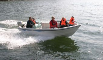 Åben båd og robåd  Terhi Nordic 6020 Console til salg