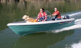 Åben båd og robåd  Terhi Sea Fun Console til salg