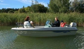 Åben båd og robåd  Terhi 4110 til salg