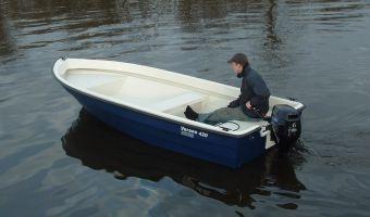 Åben båd og robåd  Verano 420 Fish til salg