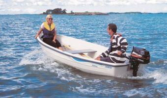 Åben båd og robåd  Terhi 385 til salg