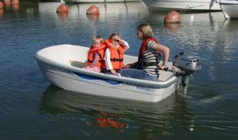 Åben båd og robåd  Terhi Baby Fun til salg