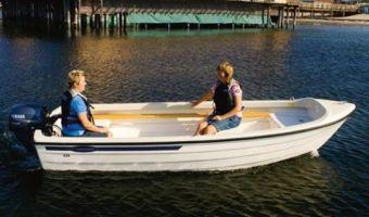 Offene Motorboot und Ruderboot Crescent 434 zu verkaufen