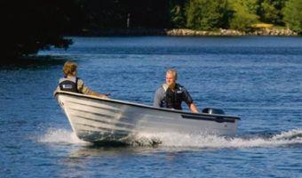 Offene Motorboot und Ruderboot Crescent 410 zu verkaufen