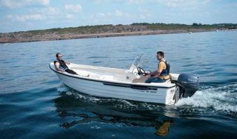 Offene Motorboot und Ruderboot Crescent 465 Trader zu verkaufen