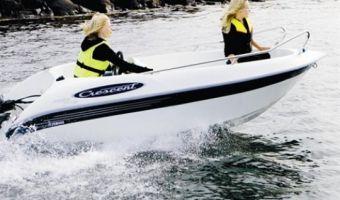 Barca aperta e a remi  Crescent 381 Free Time in vendita