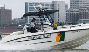 Bateau à moteur Boston Whaler 27' Justice à vendre