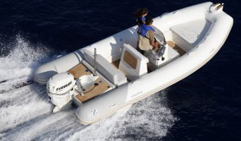 RIB en opblaasboot Zodiac Medline 580 eladó