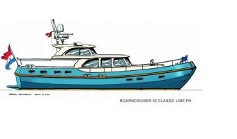 Motoryacht Boarncruiser 55 Classic Line Ph in vendita