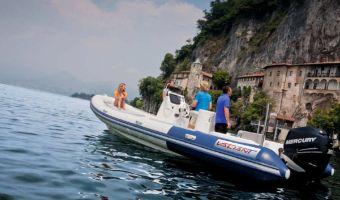 RIB en opblaasboot Valiant Comfort 760 eladó