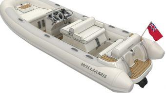 RIB en opblaasboot Williams 505 Dieseljet eladó