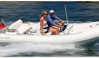RIB en opblaasboot Williams 445 Dieseljet eladó