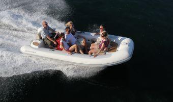 RIB en opblaasboot Williams 445 Turbojet eladó
