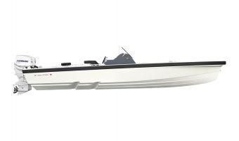 Open motorboot en roeiboot Goldfish 28 Tender eladó