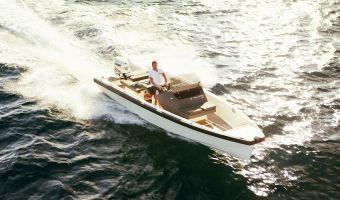 Open motorboot en roeiboot Goldfish 23 Tender eladó
