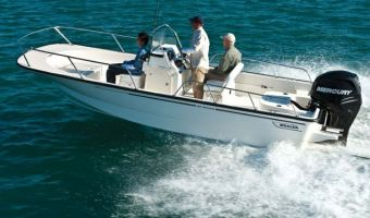 Bateau à rame Boston Whaler 190 Montauk à vendre