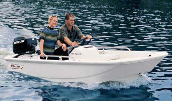 Bateau à rame Boston Whaler 110 Sport à vendre