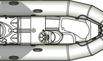 RIB et bateau gonflable Zodiac Yachtline Deluxe 380 à vendre