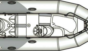 RIB en opblaasboot Zodiac Yachtline Deluxe 380 eladó