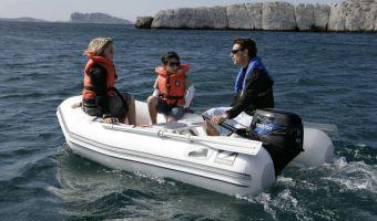 RIB en opblaasboot Zodiac Cadet Rib 260 eladó