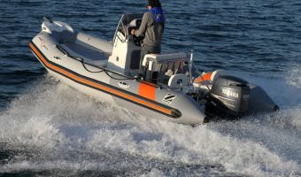 RIB et bateau gonflable Zodiac Pro Open 550 à vendre