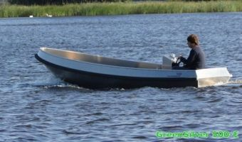 Open boat and rowboat Greensilver 500-e for sale