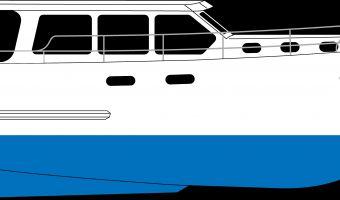Motor Yacht Brabant Kruiser Spaceline 1250 Ok til salg