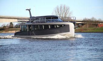 Motor Yacht Steeler Panorama Flatfloor 48 til salg