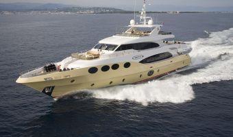 Моторная яхта супер-класса Majesty Yachts Majesty 125 для продажи