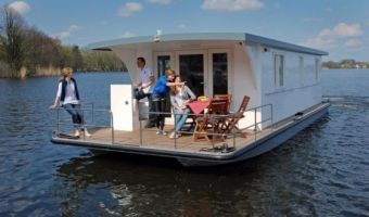 Sailing houseboat H2home 1150 for sale