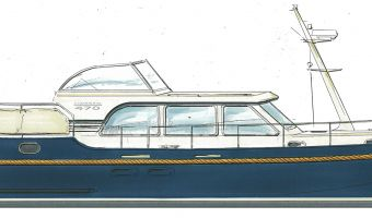 Моторная яхта Linssen Yachts Linssen Grand Sturdy 470 Sedan для продажи