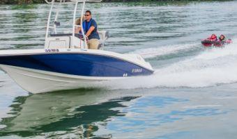 Bateau à moteur open Yamaha Jetboot 190 Fsh Sport (2017) à vendre