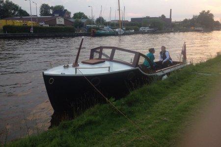 Bakdekker 7.50, Klassiek/traditioneel motorjacht Bakdekker 7.50 te koop bij Jachtbemiddeling Sneekerhof