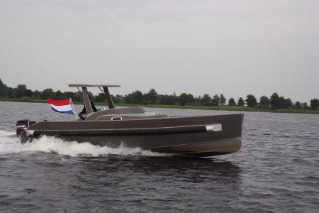 Van Vossen Alu Tender 900, Motorjacht Van Vossen Alu Tender 900 te koop bij Jachtbemiddeling Sneekerhof