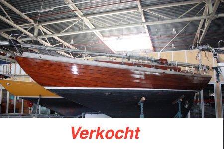 Hudson Volksboot Overnaads, Zeiljacht Hudson Volksboot Overnaads te koop bij Jachtbemiddeling Sneekerhof
