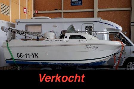 Jeanneau Merry Fisher 450, Speed- en sportboten Jeanneau Merry Fisher 450 te koop bij Jachtbemiddeling Sneekerhof