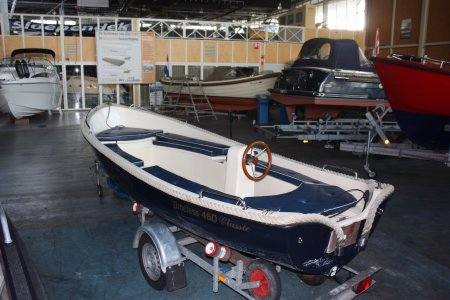 Timeless 460 Classic, Open motorboot en roeiboot Timeless 460 Classic te koop bij Jachtbemiddeling Sneekerhof