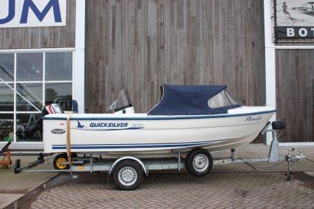 Quicksliver 500, Speed- en sportboten Quicksliver 500 te koop bij Jachtbemiddeling Sneekerhof