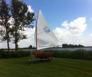 12-voetsjol Klasse, Open zeilboot 12-voetsjol Klasse for sale by Jachtbemiddeling Sneekerhof